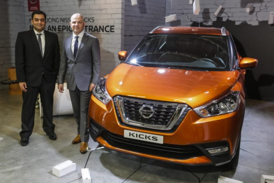 Nissan launches its all-new crossover 'Kicks' across the Middle East (1)