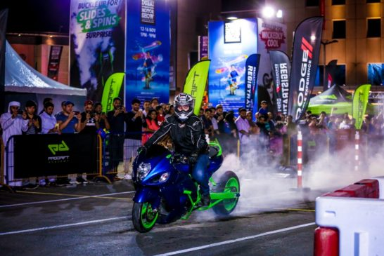 Bike stunts at DIMS 2019