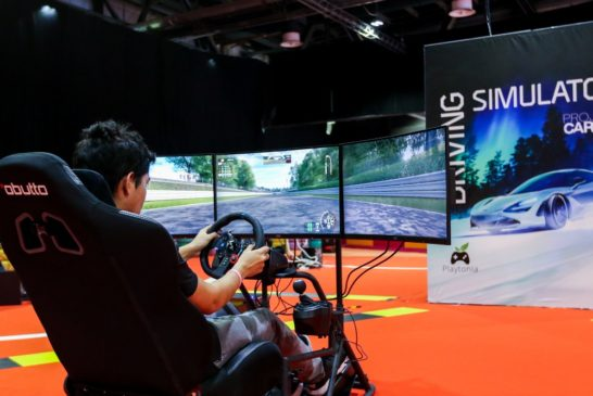 Visitors enjoy Games at DIMS 2019
