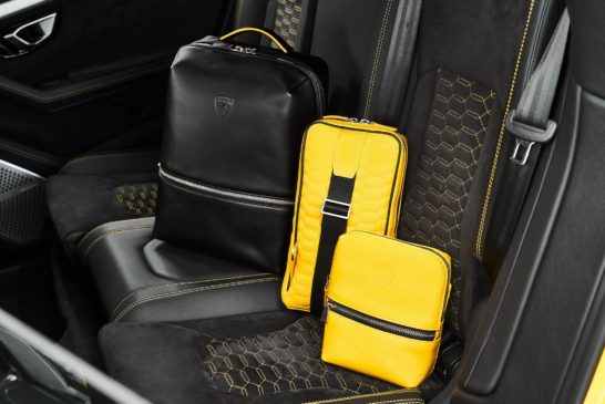 Image 3 – Automobili Lamborghini Leather Goods and Travel Collection – Leather Backpack, Messenger and Bodybag