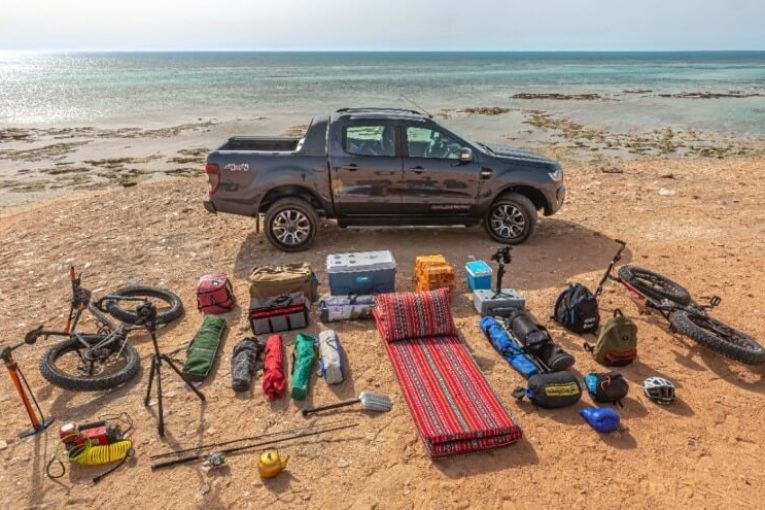 Packing a Ford Ranger Pickup for the Great Outdoors